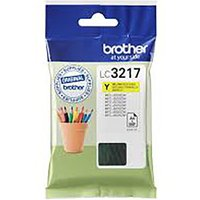 Brother LC3217 Ink Cartridge, Yellow
