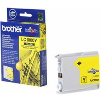 Brother LC1000 Ink Cartridge, Yellow