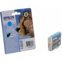 Epson T0712 Ink Cartridge 5.5ml, Cyan