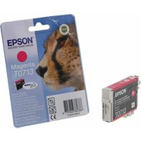Epson T0713 Ink Cartridge 5.5ml, Magenta