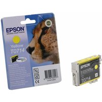 Epson T0714 Ink Cartridge 5.5ml, Yellow