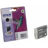 Epson T0801 Ink Cartridge 7.4ml, Black
