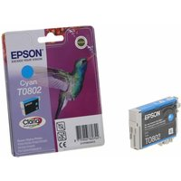 Epson T0802 Ink Cartridge 7.4ml, Cyan