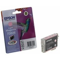 Epson T0806 Ink Cartridge 7.4ml, Light Magenta