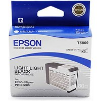 Epson T580 Ink Light Light Black, Lt Lt Black