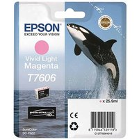 Epson T7606 Vivid Ink Light Magenta, Lgt Magenta