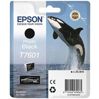 Epson T7601 Photo Ink Cartridge Black, Black