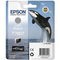 Epson T7607 Ink Cartridge Light Black, Light Black