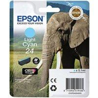 Epson T2425 24 Ink Cartridge Light Cyan, Light Cyan
