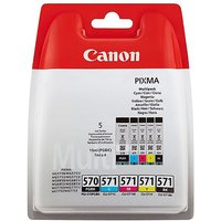 Canon PGI-570 Value Pack Ink Cartridges, Multi at Ryman Stationery