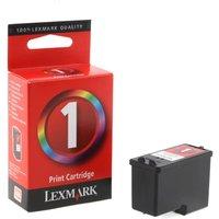 Lexmark 1 Ink Cartridge, Colour