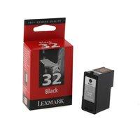 Lexmark 32 Inkjet Printer Ink Cartridge, Black