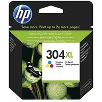 HP 304XL Tri-Color Ink Cartridge, Tri Colour
