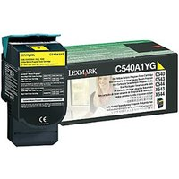 Lexmark OC540A1YG Return Program Toner Yellow, Yellow