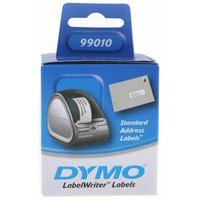 Dymo Address Labels 89x28mm 130 Standard Labels Pack of 2, White