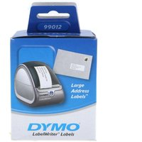 Dymo Address Labels 89x36mm 260 Large Labels Pack of 2, White