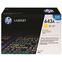 HP 643A Colour Laser Printer Ink Toner Cartridge Q5952A, Yellow