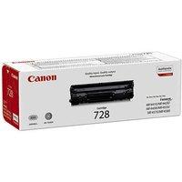 Canon 728 Ink Laser Printer Toner Cartridge, Black
