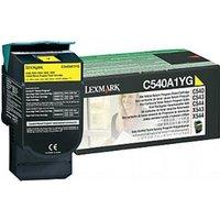 Lexmark C540 Printer Toner Return Program, Black