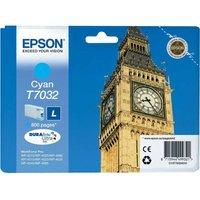 Epson T7032 Ink Cartridge, Cyan