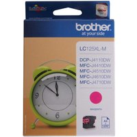 Brother LC125XL Ink Cartridge, Magenta