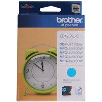 Brother LC125XL Ink Cartridge, Cyan