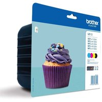 Brother LC123 Multipack Ink Cartridges, Multi