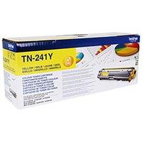 Brother TN241 Colour Laser Toner Cartridge, Yellow
