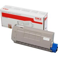 Oki 44318608 Printer Ink Toner Catridge, Black