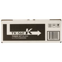Kyocera TK560K Printer Toner Cartridge, Black