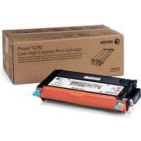 Xerox Phaser 106R01392 Printer Ink Toner Cartridge, Cyan