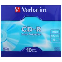 Verbatim CD-R Slim Case 52X Pack of 10