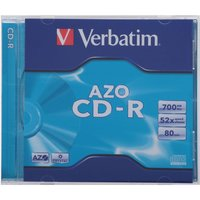 Verbatim CD-R Disk Single 700mb 52x, 700mb 48x
