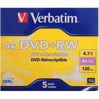 Verbatim DVD 4.7GB Pack of 5, none