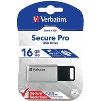 Verbatim Secure Pro 16GB USB 3.0 Drive