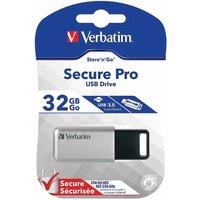 Verbatim Secure Pro 32GB USB 3.0 Drive