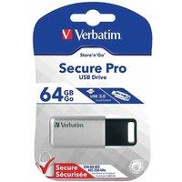 Verbatim Secure Pro 64GB USB 3.0 Drive