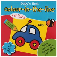 Colour in the Line Book