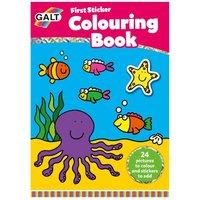 Galt My First Sticker Colouring Book