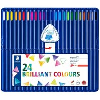 Staedtler Ergosoft Colouring Pencils Pack of 24, Assorted