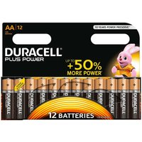 Duracell Plus Power AA Batteries Pack of 12