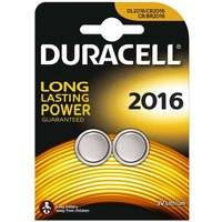 Duracell Electronics DL2016 Pack of 2