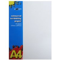 Ryman Coloured Scribbling Pad 75shts A4