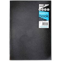 Click to view product details and reviews for Silvine Sketch Pad A4 140gsm Black.