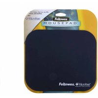 Fellowes Microban Mouse Mat L232xW200xD6mm Assorted  Black