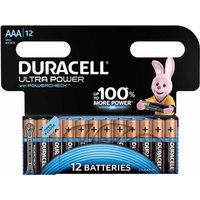 Duracell Ultra AAA Batteries Pack of 12
