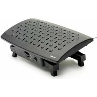 Fellowes Footrest with Climate Control, Black