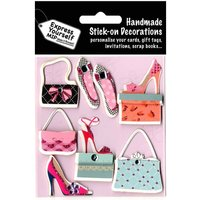 Express Yourself Shoes and Handbags Stick-On Decorations