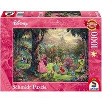 Thomas Kinkade Disney Jigsaw Puzzle Sleeping Beauty 1000 Pieces  Assorted