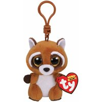 Ty Rusty Beanie Boo Racoon Clip Keyring